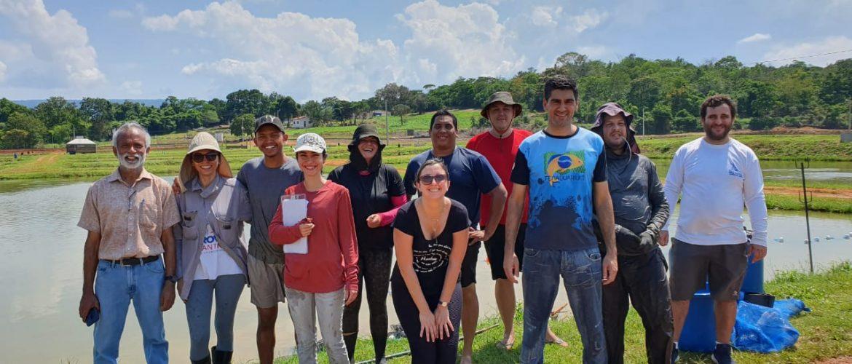 Kick off meeting of case study focused on Brazilian freshwater species, arapaima and pirarucu.