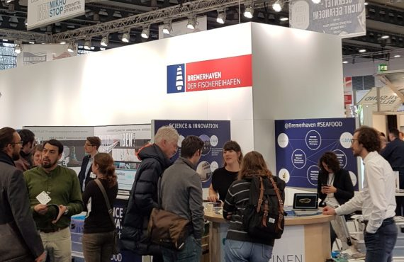 AWI attended a stand at German fair Fish International.