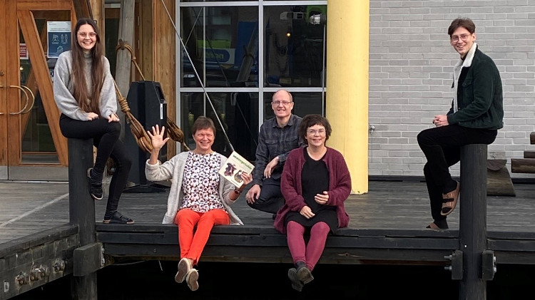 Part of the niversity of Tromso team involved in the organisation of training activities in AquaVitae.