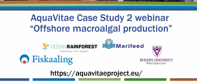 AquaVitae workshop on offshore cultivation by Ocean Rainforest.