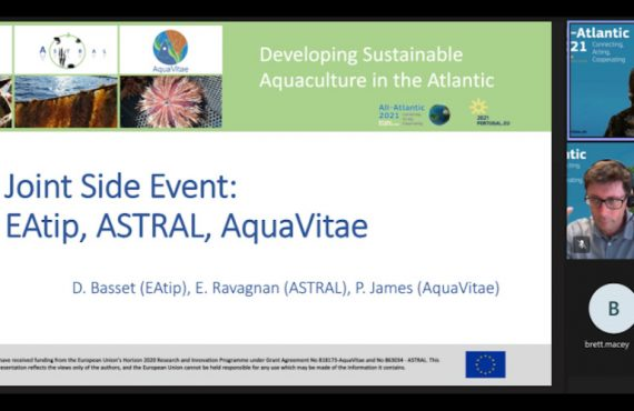 All-Atlantic21 side even on sustinable aquaculture with AquaVitae, ASTRAL and EATiP.